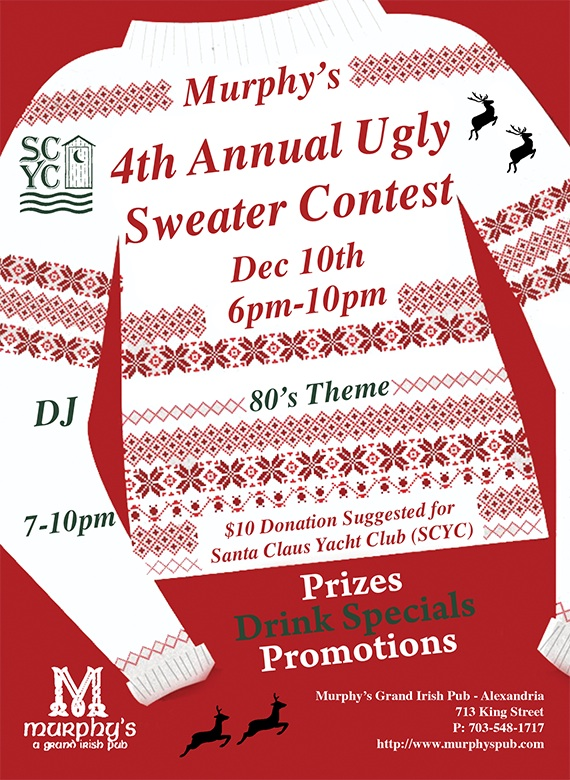 Ugly Sweater Flier